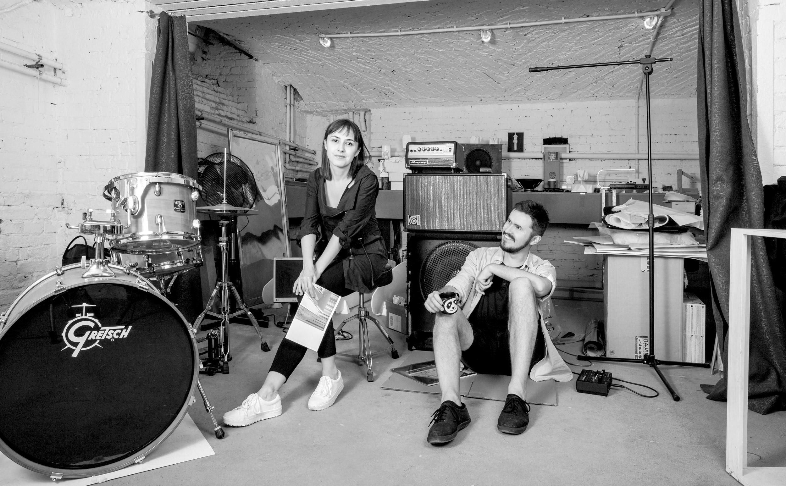 Ewa Doroszenko and Jacek Doroszenko - rehersal