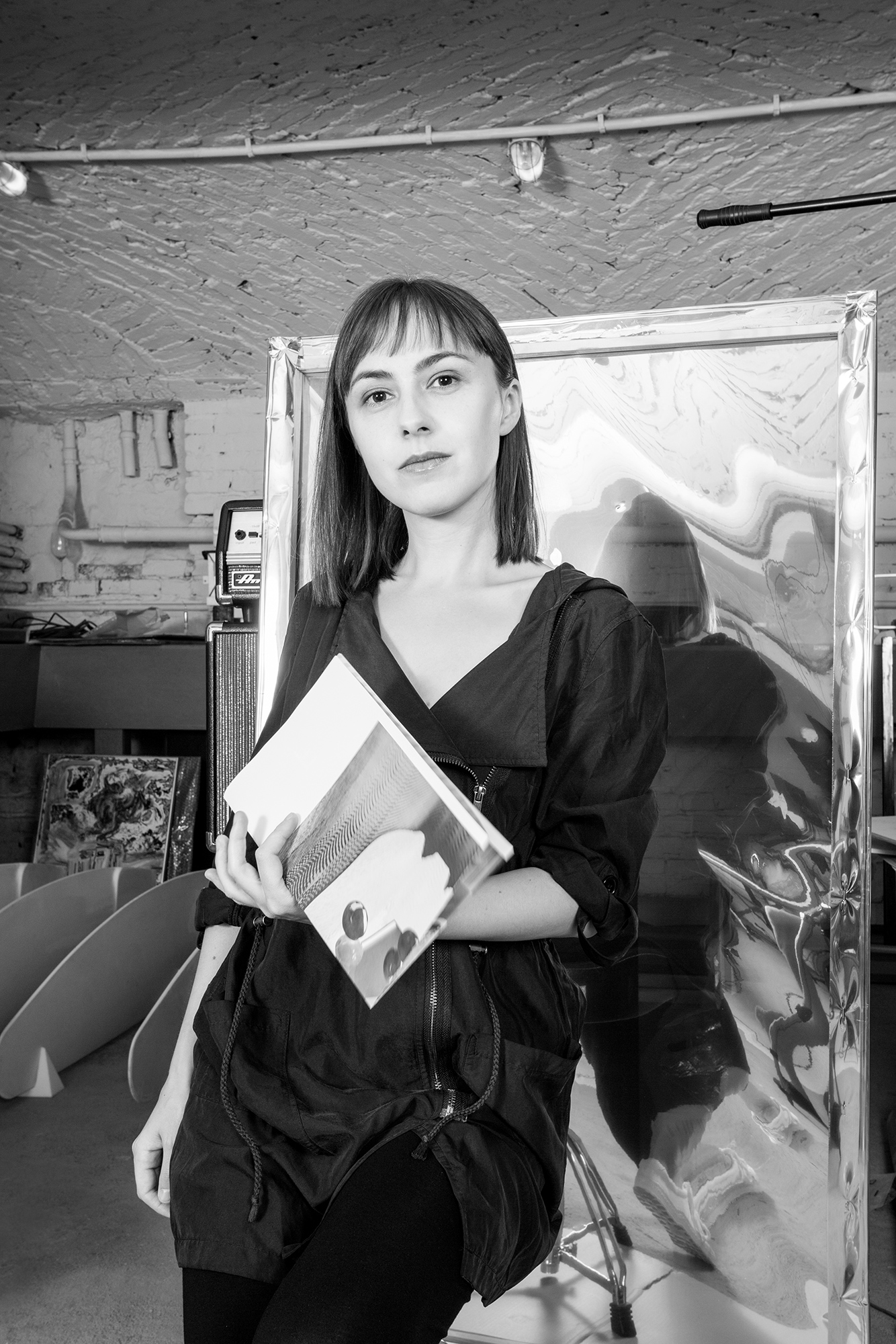 Ewa Doroszenko portrait, Propaganda Gallery, WGW